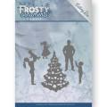 Jeanine´s Art Dies - Frosty Ornaments - Happy Family