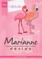 Marianne Design Dies - Eline's Flamingo