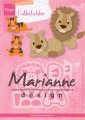 Marianne Design Dies - Eline's Lion/Tiger