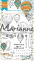Marianne Design Clearstamp - Hetty´s - Sky is the limit