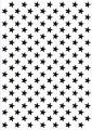 Nellie Snellen Embossingfolder - Background - Stars