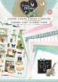 Studiolight Block 3D Utstansat - Love & Home