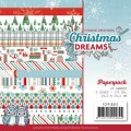 Yvonne Creations Pappersblock - Christmas Dreams