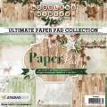 Studiolight Pappersblock - Woodland Winter