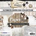 Studiolight Pappersblock - Frozen Forest