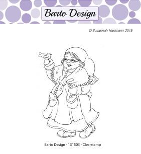 Barto Design - Clearstamp - Tomtemor - Barto Design - Clearstamp - Tomtemor