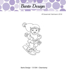 Barto Design - Clearstamp - Tomtepojke - Barto Design - Clearstamp - Tomtepojke