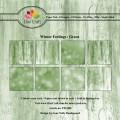 Dixi Craft Pappersblock - Winter Feelings/Green