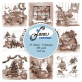 by Lene Toppers - Elves & Gnomes – Sepia