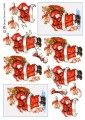HM design 3D Klippark - Tomten m säck