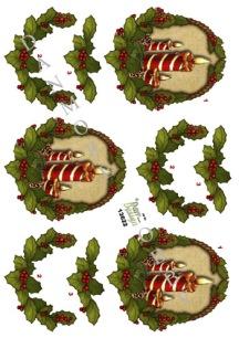 Dan design - 3D Klippark - Julljus - 3D Klippark - Julljus