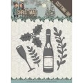 Amy Design Dies - Christmas Wishes - Champagne