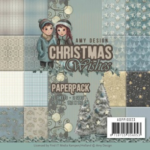 Amy Design Pappersblock - Christmas Wishes - Amy Design Pappersblock - Christmas Wishes