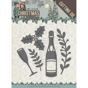 Amy Design Dies - Christmas Wishes - Champagne - Amy Design Dies - Christmas Wishes - Champagne