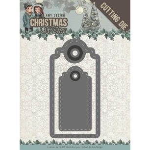 Amy Design Dies - Christmas Wishes - Wishing Labels - Amy Design Dies - Christmas Wishes - Wishing Labels
