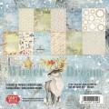 Craft & You - Dubbelsidiga papper - Winter Dream 30x30 cm