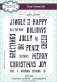 Creative Expressions - Clearstamp Set - Festival Flurry