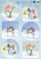 Marianne Design Klippark - Hetty´s Snowmen