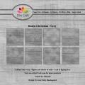 Dixi Craft Pappersblock - Rustic Christmas/Grey