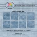 Dixi Craft Pappersblock - Rustic Christmas/Blue