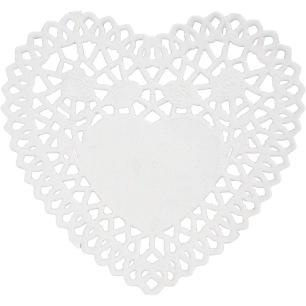 Tårtpapper - Hjärta, 30 st - Tårtpapper - Hjärta, 30 st