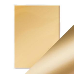 Tonic Studios Craft - Mirror Card -  Honey Gold - Satin Effect, A4 - Tonic Studios Craft - Mirror Card -  Honey Gold - Satin Effect, A4