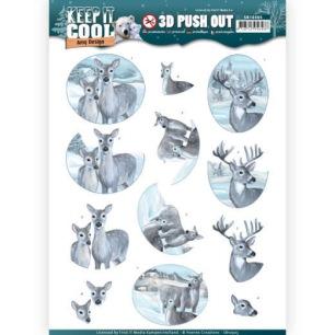 Amy Design 3D Utstansat - Keep it Cool - Cool Deers - Amy Design 3D Utstansat - Keep it Cool - Cool Deers