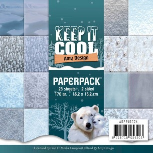 Amy design - Pappersblock - Keep it Cool - Amy design - Pappersblock - Keep it Cool
