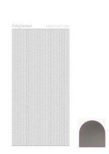 Hobbylines Mirror Stickers – Silver - Hobbylines Mirror Stickers – Silver