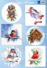 Marianne Design Klippark - Birds in the Winter