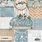 Studiolight Pappersblock, 170 gr - Winter Feelings