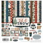 Papper - Carta Bella Collection Kit - Let it Snow