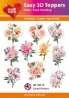 Easy 3D Utstansat - Pastel Flowers