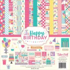 Papper - Echo Park Collection Kit - Happy Birthday Girl,