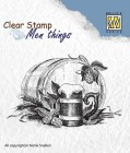 Nellie Snellen - Clearstamps - Beer Time