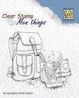 Nellie Snellen - Clearstamps - Backpack & Shoes