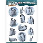 Amy Design 3D Utstansat - Keep it Cool - Cool Penguin