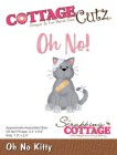 Cottage Cutz Dies - Oh No Kitty