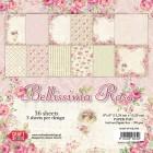 Craft & You - Pappersblock - Bellissima Rosa