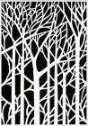 Nellie Snellen Embossingfolder - Background trees