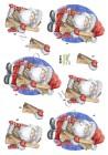 Dan design - 3D Klippark - Tomte