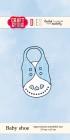 Craft & You - Dies - Baby shoe