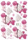 Dan design 3D Klippark - Muffins & blomma