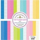Papper - Petite Prints Doodlebud design - Hello