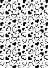 Mix Media Stencil A5 - Hearts