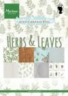 Marianne Design Pappersblock - Herbs & Leaves
