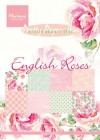 Marianne Design Pappersblock - English Roses