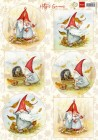 Marianne Design Klippark - Hetty's Gnomes