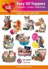 Easy 3D Utstansat - Cute Cats