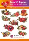 Easy 3D Utstansat - Christmas Floristy 2